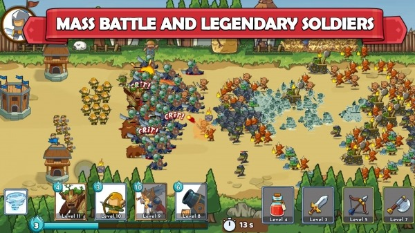 Clash Of Legions - Kingdom Rise Android Game Image 2