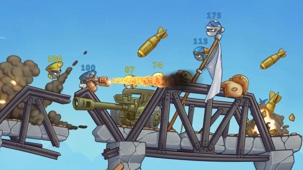 Warlings 2: Total Armageddon Android Game Image 3