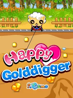 Happy Gold Digger Java Game Image 1