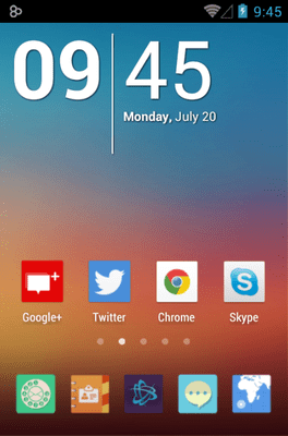 Mix Flat Icon Pack Android Theme Image 1
