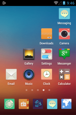 Mix Flat Icon Pack Android Theme Image 2