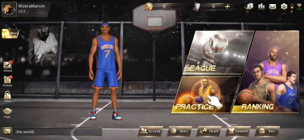 Street Basketball Superstars Android Game Image 1