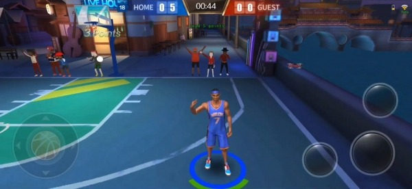Street Basketball Superstars Android Game Image 2