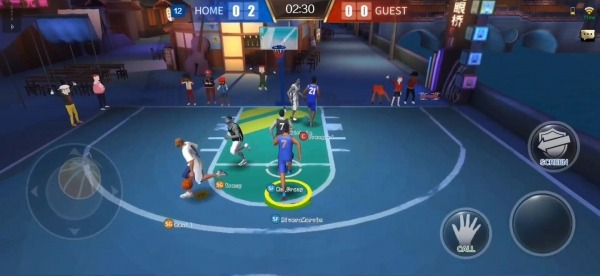 Street Basketball Superstars Android Game Image 3