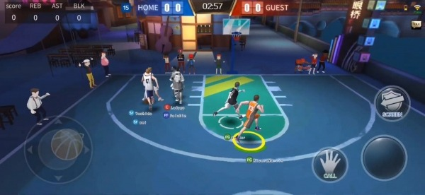 Street Basketball Superstars Android Game Image 4