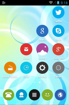 Rounded UP Icon Pack Android Theme Image 2