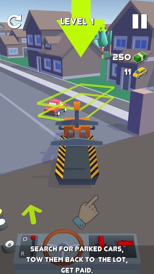 Tow Truck Android Game Image 1