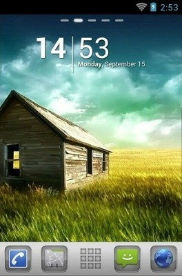 Plate Go Launcher Android Theme Image 1