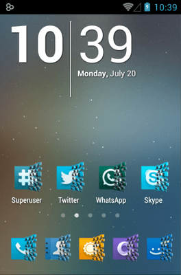 Dynamics Icon Pack Android Theme Image 1