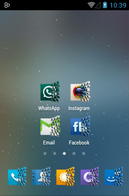 Dynamics Icon Pack Android Theme Image 2