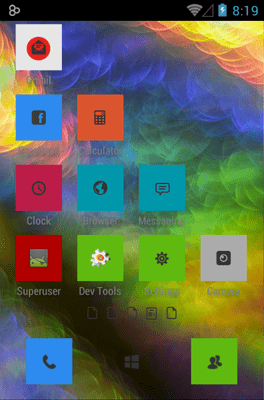 Eight Icon Pack Android Theme Image 2