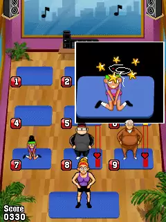 Pump It Up: Aerobics! Java Game Image 2