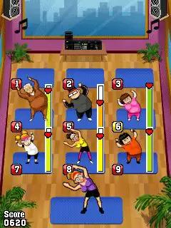 Pump It Up: Aerobics! Java Game Image 3