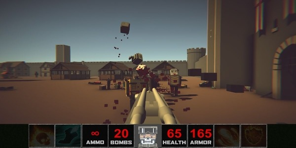 DOOM Zombies Chainsaw:Devil Blood Dungeon Monsters Android Game Image 3