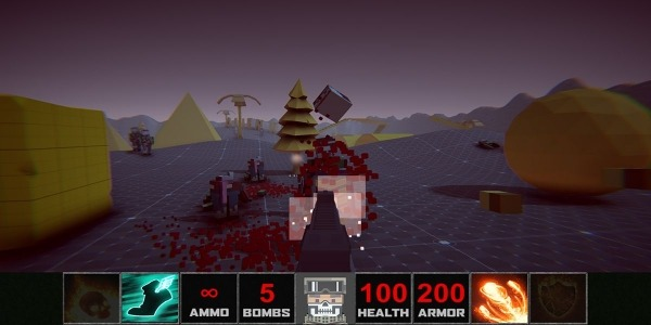 DOOM Zombies Chainsaw:Devil Blood Dungeon Monsters Android Game Image 4