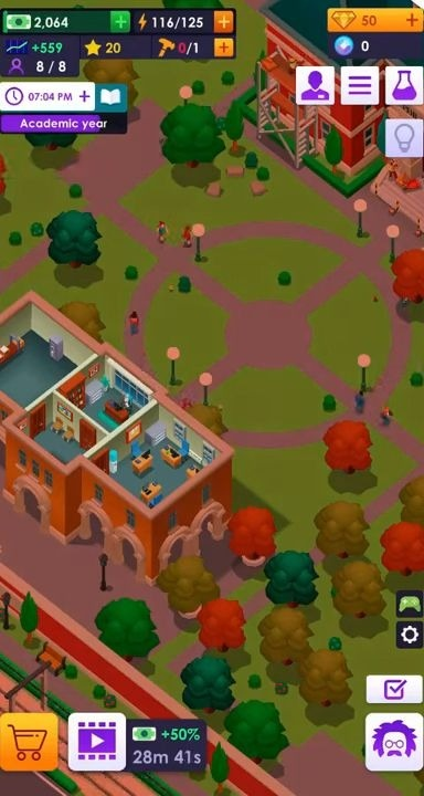 University Empire Tycoon - Idle Management Game Android Game Image 1