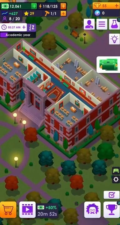 University Empire Tycoon - Idle Management Game Android Game Image 2