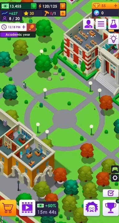 University Empire Tycoon - Idle Management Game Android Game Image 3
