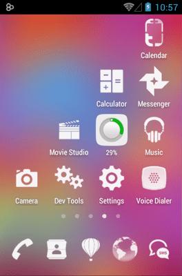 3K MNML White Icon Pack Android Theme Image 2