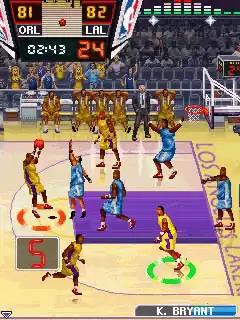 NBA Pro Basketball 2010 Java Game Image 2