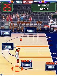 NBA Pro Basketball 2010 Java Game Image 4