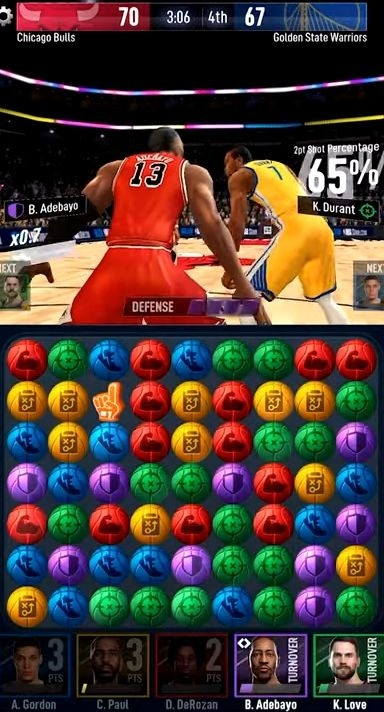 NBA Ball Stars: Play With Your Favorite NBA Stars Android Game Image 3