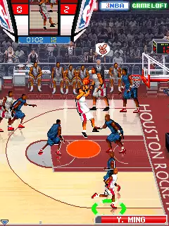 NBA Pro Basketball 2009 Java Game Image 3