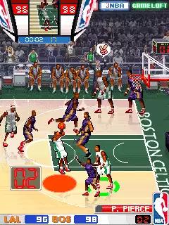NBA Pro Basketball 2009 Java Game Image 4