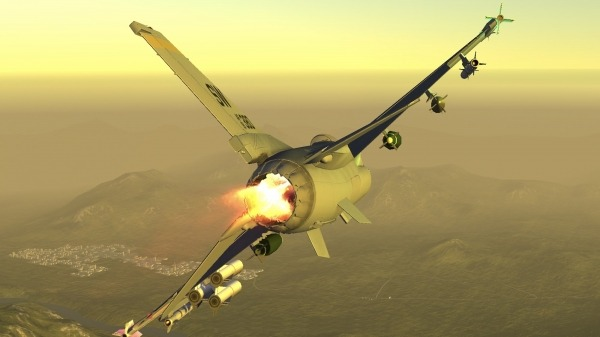 Armed Air Forces - Jet Fighter Flight Simulator Android Game Image 1