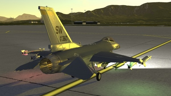 Armed Air Forces - Jet Fighter Flight Simulator Android Game Image 2
