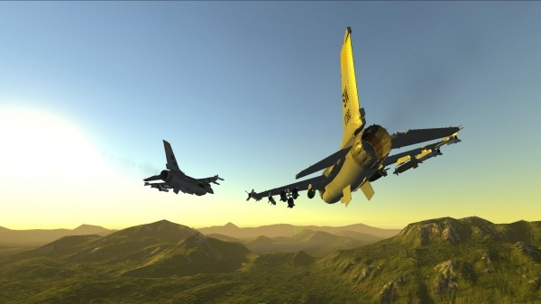 Armed Air Forces - Jet Fighter Flight Simulator Android Game Image 3