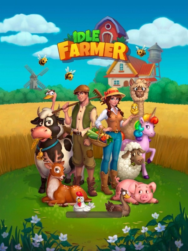 Idle Farmer Simulator: Build Your Farming Empire! Android Game Image 1