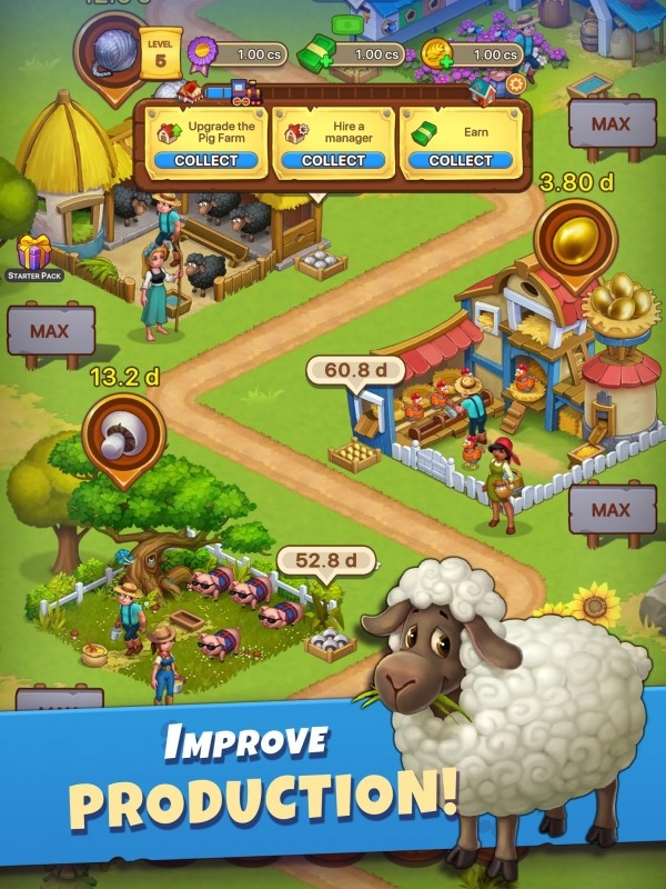 Idle Farmer Simulator: Build Your Farming Empire! Android Game Image 4