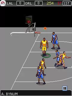 NBA Live 2010 Java Game Image 3