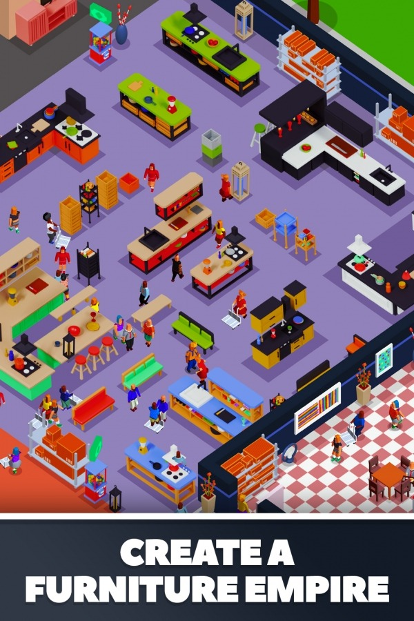 Idle Furniture Store Tycoon - My Deco Shop Android Game Image 1