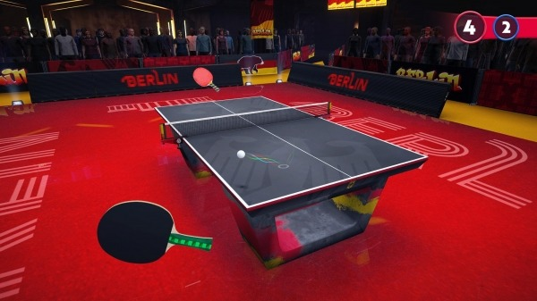 Ping Pong Fury Android Game Image 2