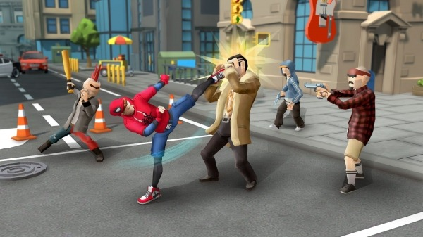 Spider Fighter: Superhero Revenge Android Game Image 1