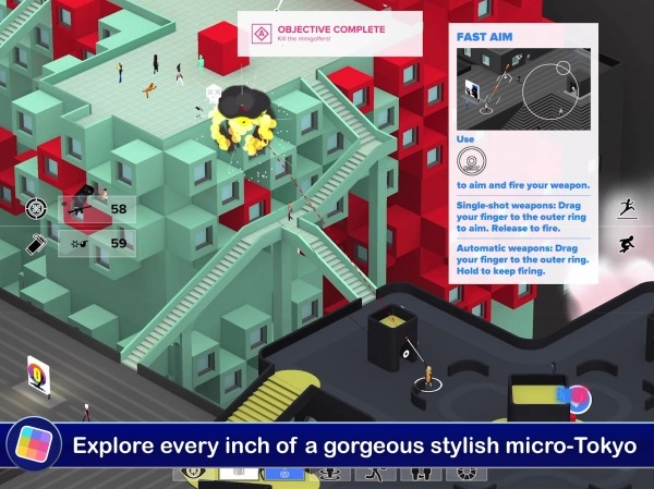 Tokyo 42 Android Game Image 2