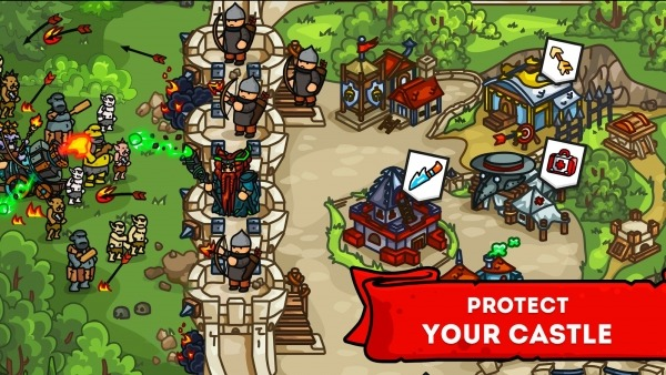 Towerwall - Castle Defense Management Strategy Android Game Image 3