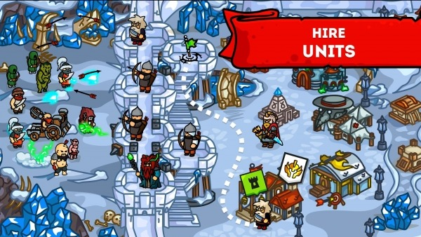 Towerwall - Castle Defense Management Strategy Android Game Image 4