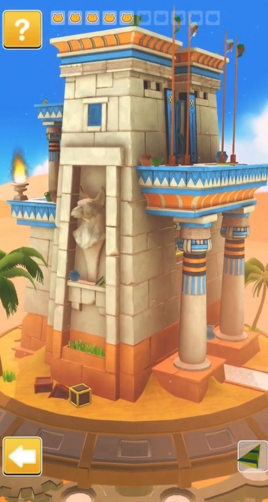Cats In Time - Relaxing Puzzle Game Android Game Image 2