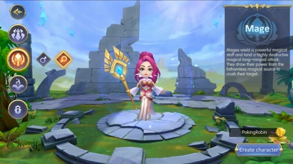 Oath Of Glory - Action MMORPG Android Game Image 1