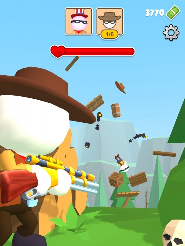 Western Sniper - Wild West FPS Shooter Android Game Image 1