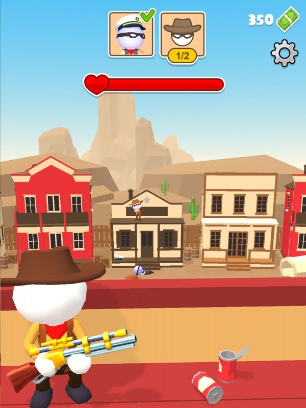 Western Sniper - Wild West FPS Shooter Android Game Image 2