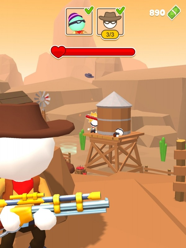Western Sniper - Wild West FPS Shooter Android Game Image 3