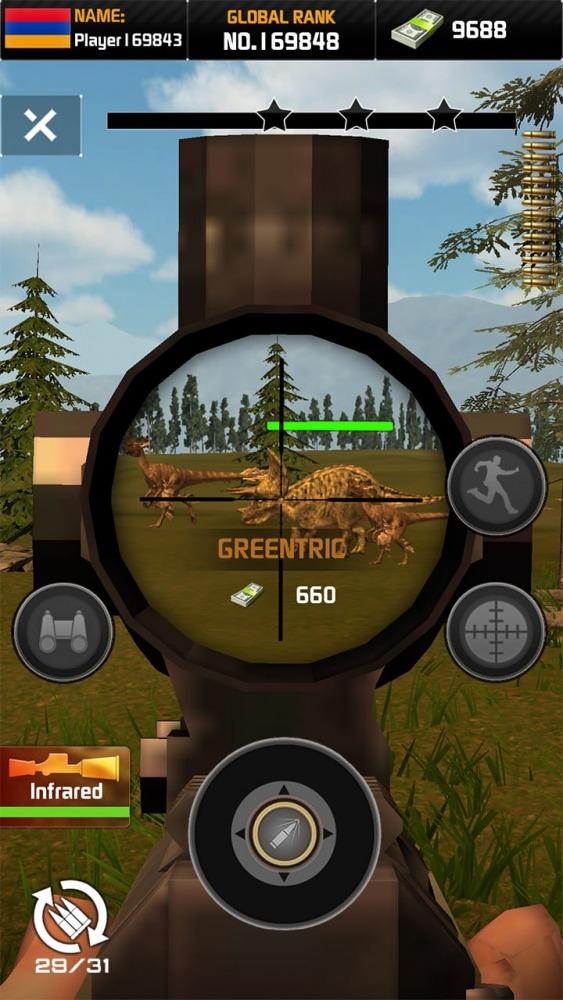 Wild Hunter: Dinosaur Hunting Android Game Image 1
