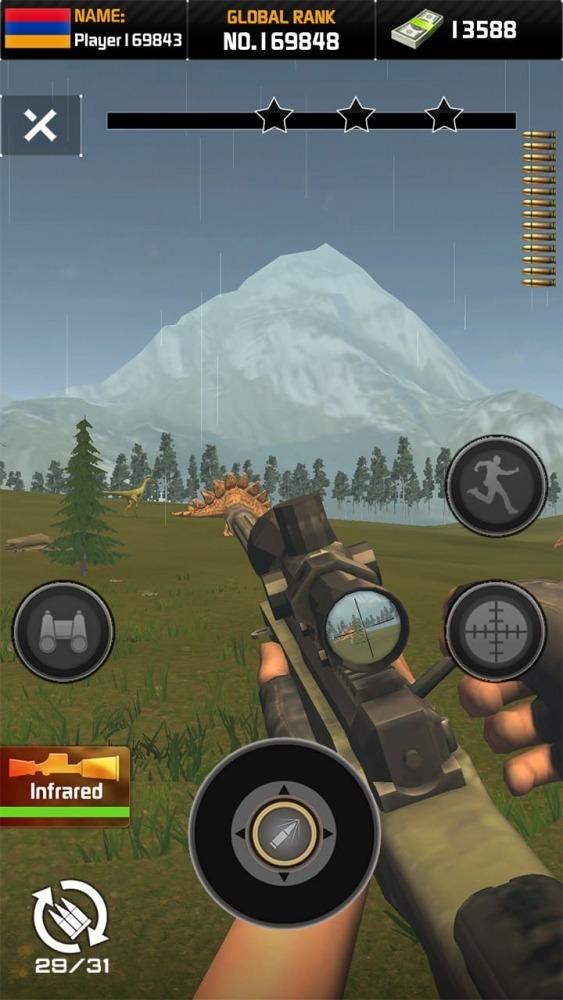 Wild Hunter: Dinosaur Hunting Android Game Image 3