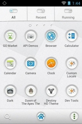 Magic Watch Go Launcher Android Theme Image 2