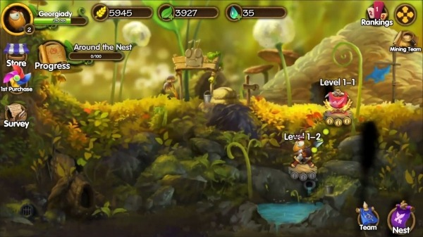 Tales Of Bugs-Slingshot Action Role-playing Game Android Game Image 1