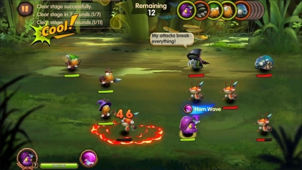 Tales Of Bugs-Slingshot Action Role-playing Game Android Game Image 3